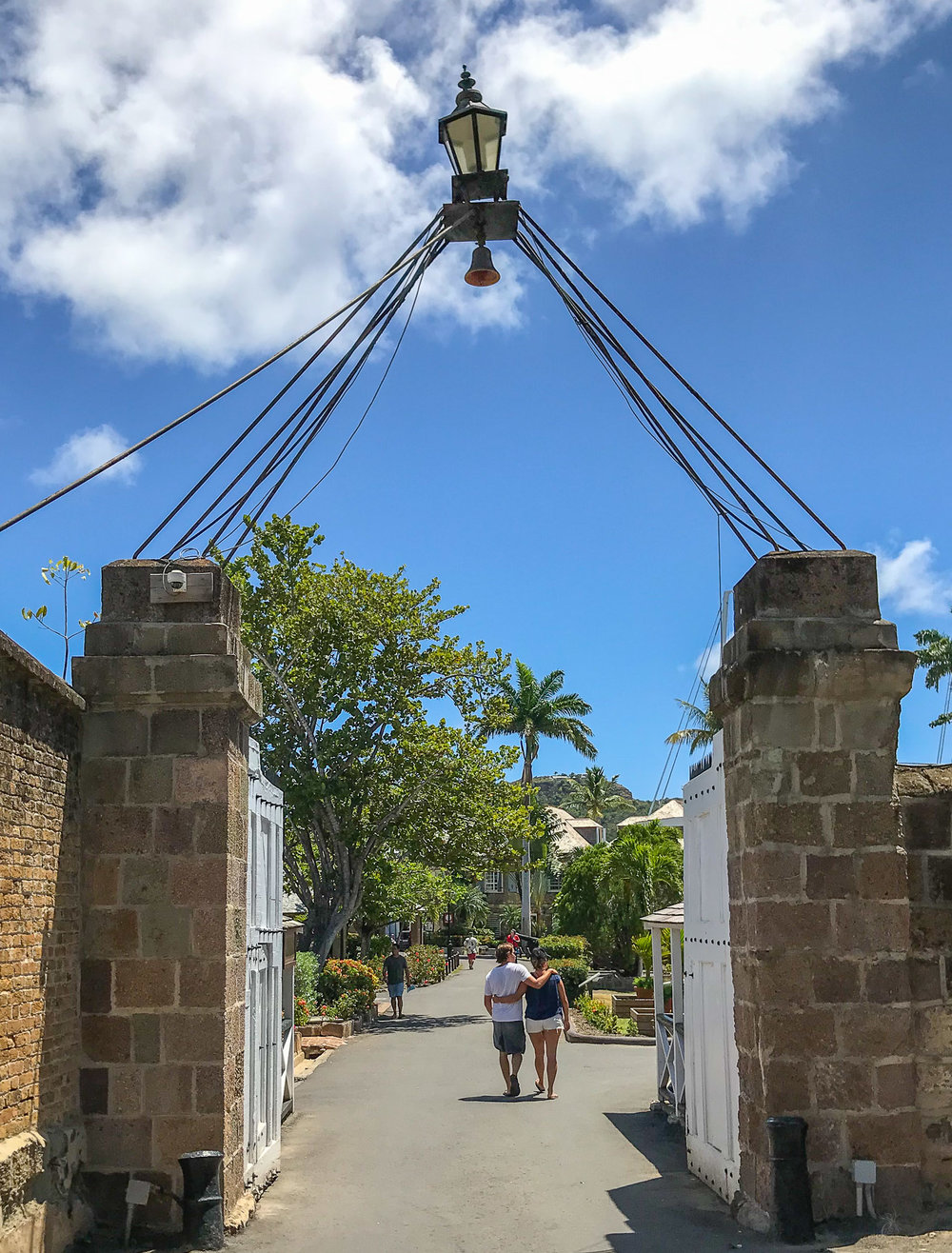 Entrance to Fort in English Harbor, Antigua