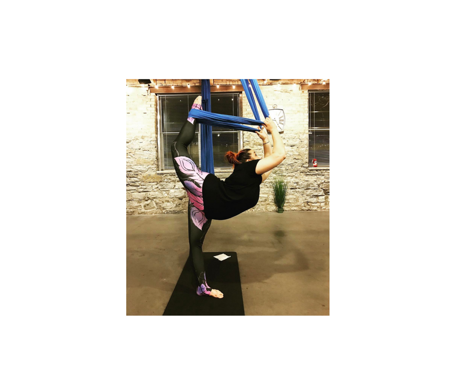 - Awesome pants. So stretchy. More handstanding and more bending!~Natalie