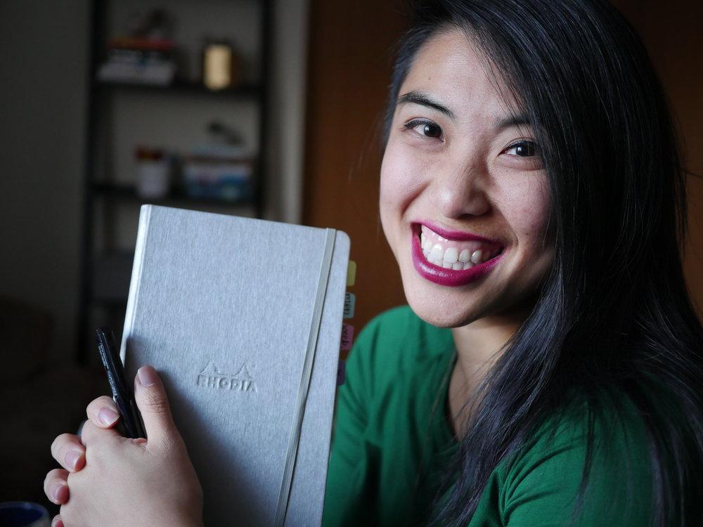 Jessica of Pretty Prints and Paper - Jessica of Pretty Prints and Paper (her instagram and facebook )