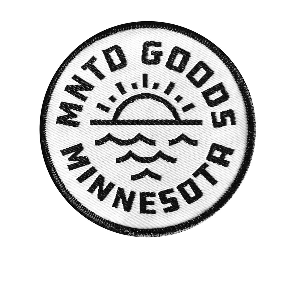 This Lake Livin' patch by MNTD is perfect for fans of Minnesota summers spent on boats or at the cabin.