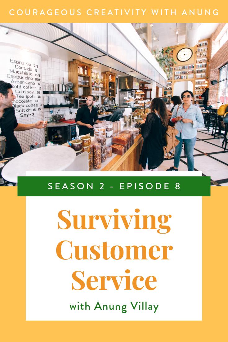 Surviving a customer service job