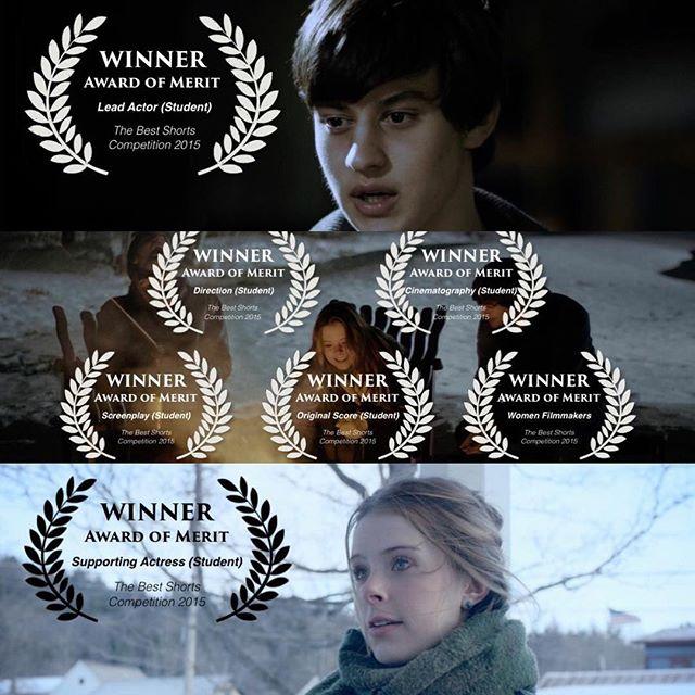 Congrats to our Award of Merit winners! 🏆🎉🏆✨ #BOUNDfilm #shortfilm #awardwinning #thestjohnsisters