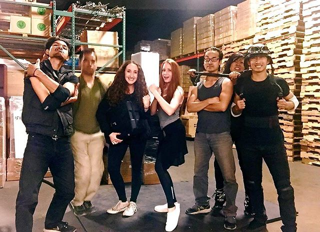 What an amazing bunch. These stunt performers are going to kick ass in CARGO!! Stunts are so much fun! 🎬🙌💯🎥 @cargofilm #CARGOfilm #thestjohnsisters #indiefilm #shortfilm #film #action #stunts #awesome #womeninfilm #femalefilmmakers #makingmovies #moviemagic #rehearsal #production