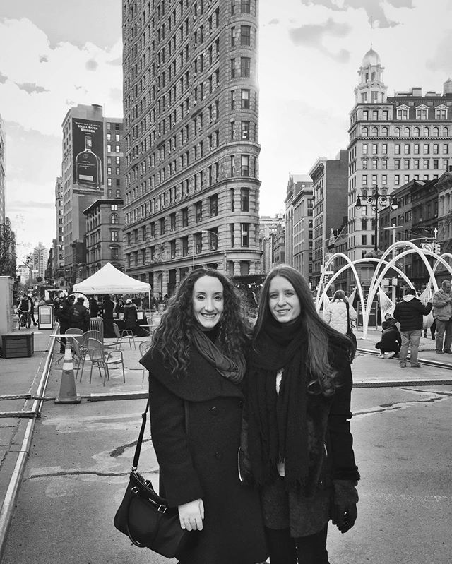 #tbt to our work week in NYC! Best part of being writers: working remotely 🙌💯👌 #thestjohnsisters #werk #writing #nyc #twinning #twinstagram #filmmaker