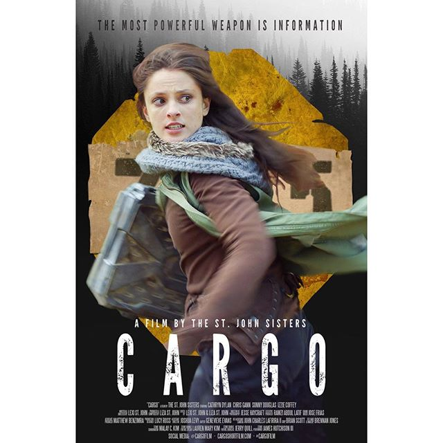 Here it is! Our #officialposter for #CARGOfilm ! Featuring our kick-ass lead @cathryndylan 💪💯😻 More exciting things to come... #thestjohnsisters #shortfilm #production #poster #womeninfilm #action #promo #actress #girlpower