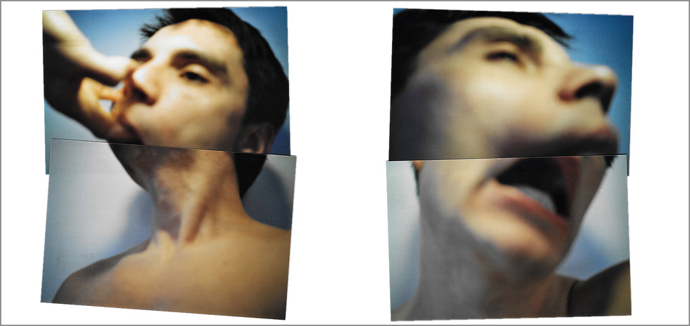 Ulterior series, Diptych  (aprox 80 cm x 70 cm ). C-Type photographs