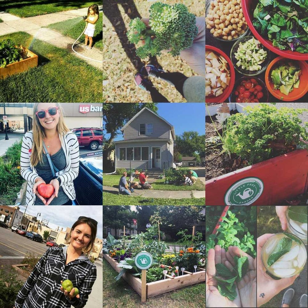 Check out  #LittleFreeGarden on Instagram  to see more photos from our Little Free Garden project.