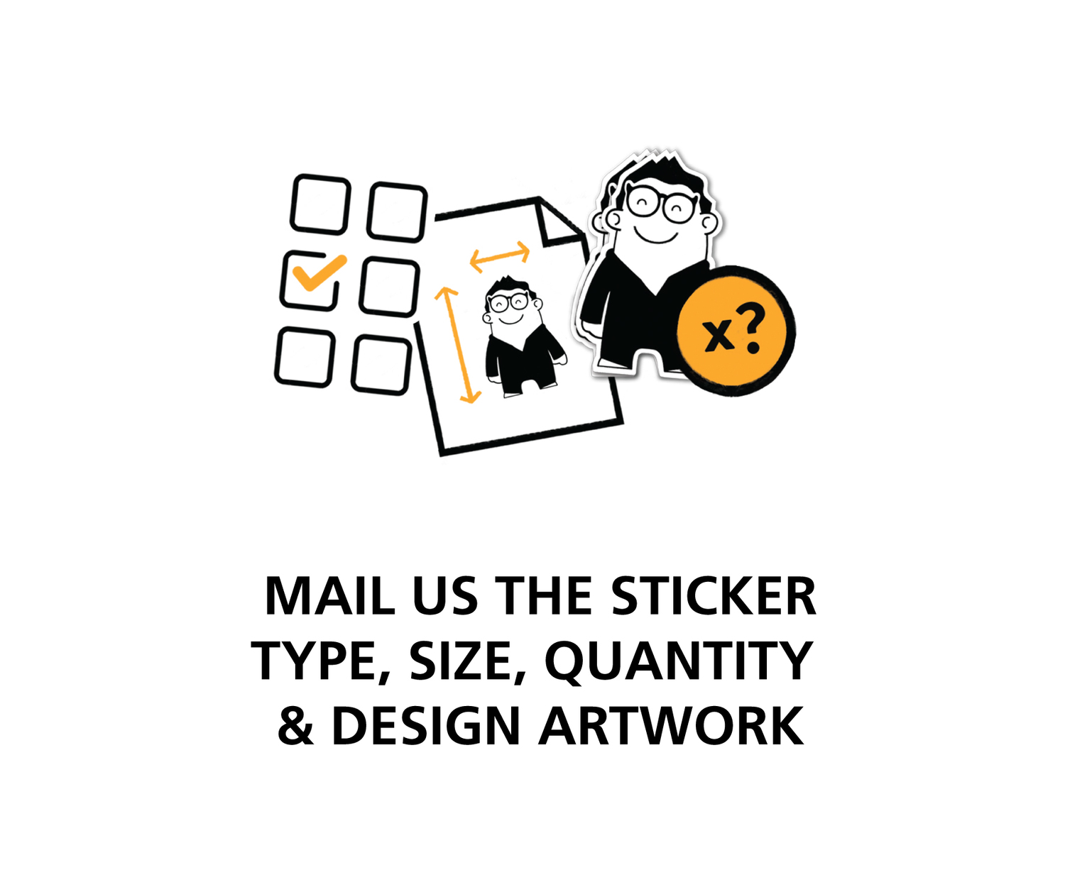 How to order vinyl stickers 1