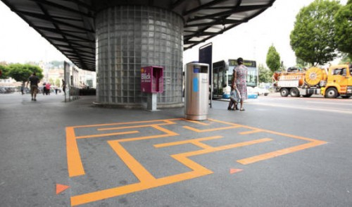Swiss City Fights Litter With Trash Can Games