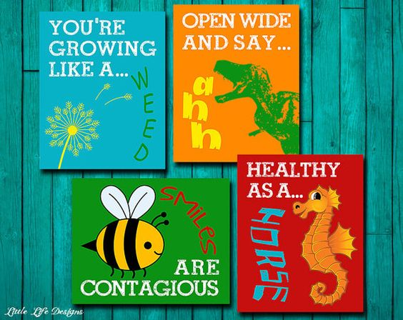 Reward sticker designs to enage the lil ones at the kids dental clinic or hospital | Source: Little Design Life store at Etsy