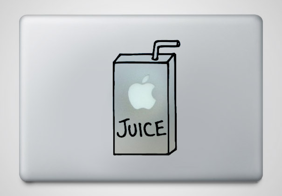 Source :  http://static.boredpanda.com/blog/wp-content/uuuploads/cool-creative-macbook-stickers/cool-macbook-stickers-apple-juice.jpg