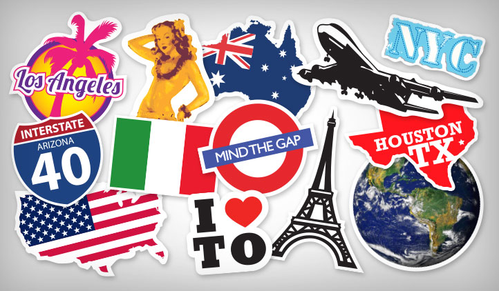 Source https www stickeryou com products travel