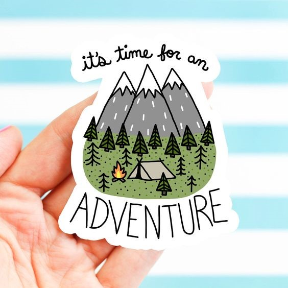 Image Credits:  https://www.etsy.com/in-en/listing/493356060/mountain-sticker-funny-stickers