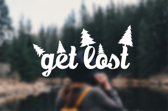 Image Credits:  https://www.etsy.com/in-en/listing/620158202/get-lost-decal-travel-adventure-sticker