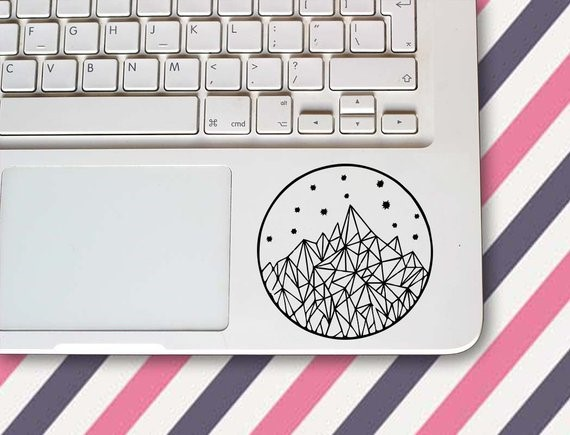 Image Credits:  https://www.etsy.com/in-en/listing/620482549/mountain-and-stars-decal-stickermountain