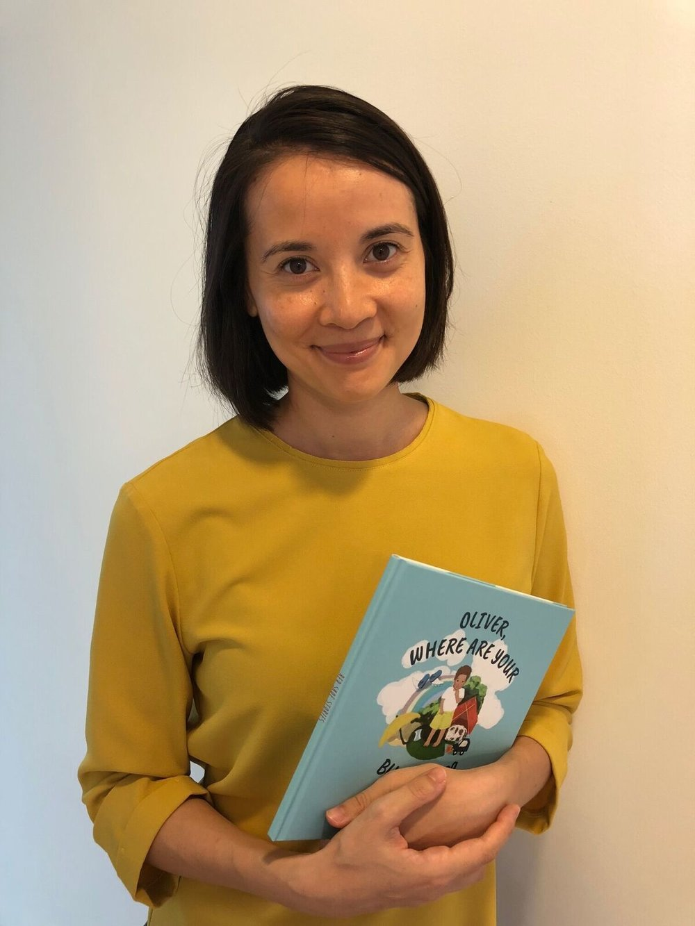 Naomi Vowels with her debut book