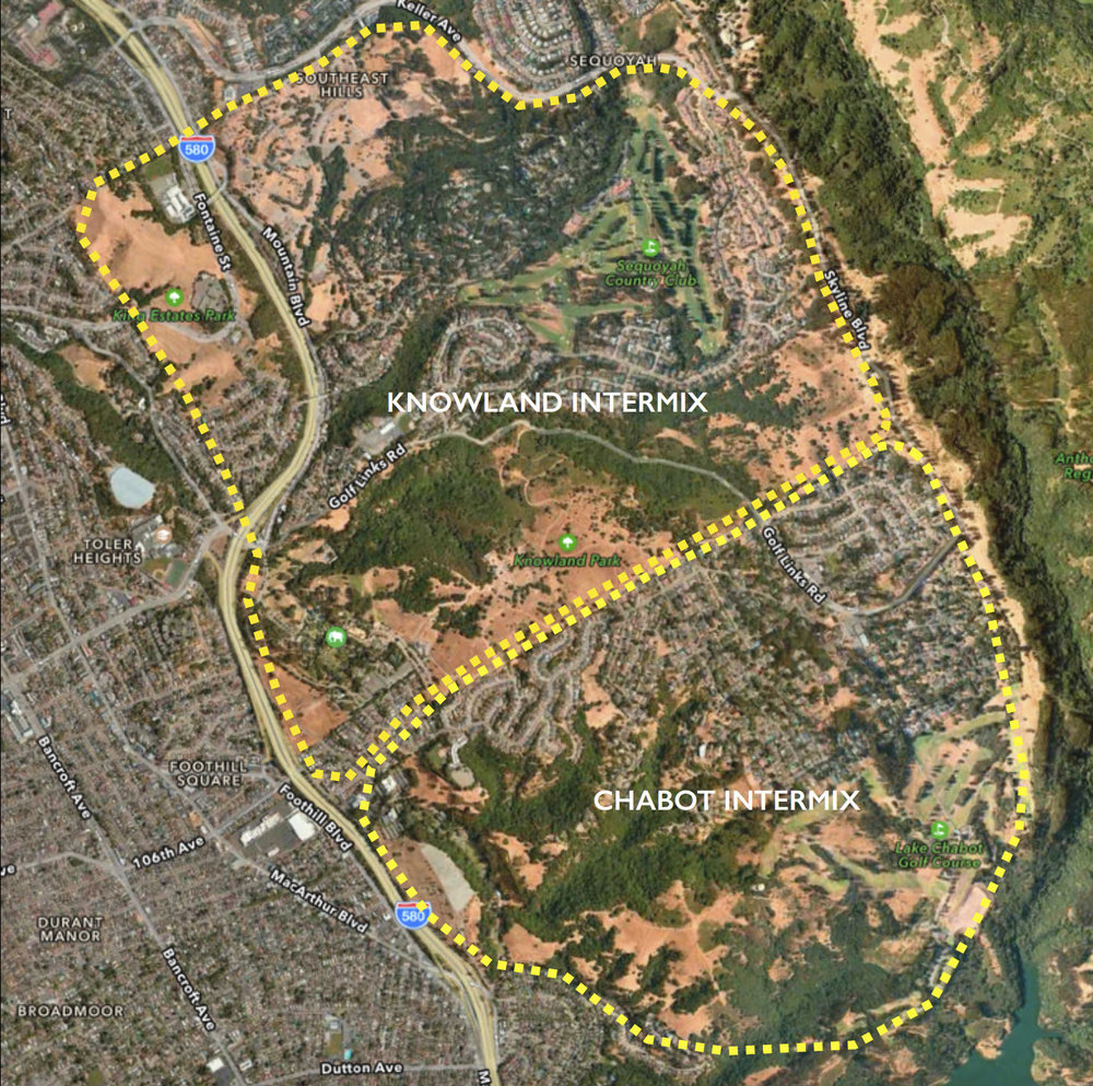 Knowland and Chabot Fire intermix.jpg