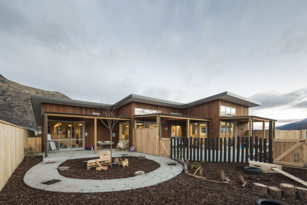 gems shotover country - the nest and the hive from the playground - click for more images!