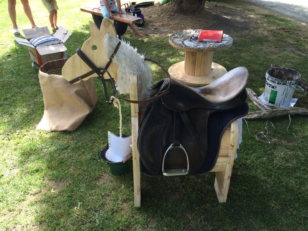 """Alissa's """"reel"""" horse from 2015"""