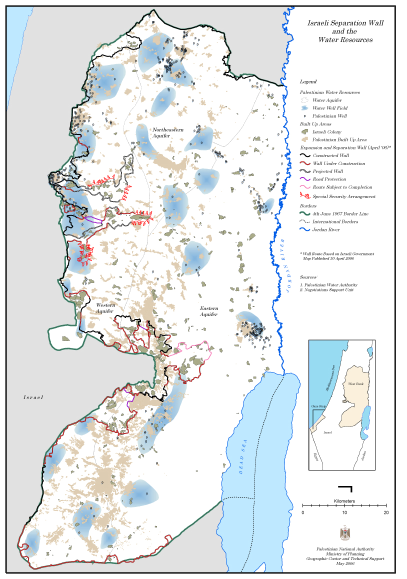 West Bank Water Resources [ Source: AMP ]