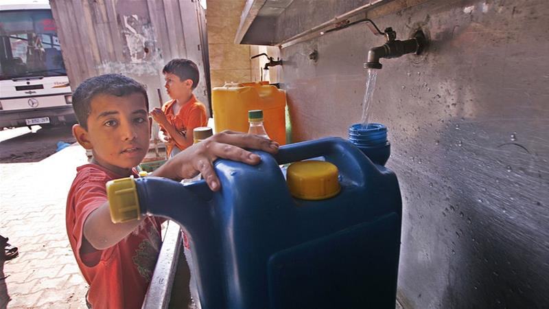 Since Israel took over the West Bank in 1967, Israel has remained in near full control over Palestinian water resources in the West Bank. [ibrahim/Getty images]