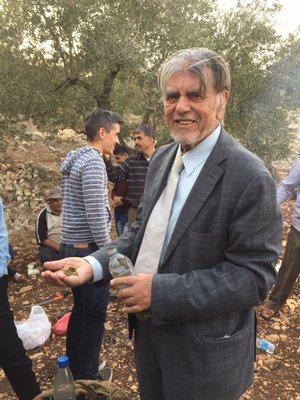 Hamad Yasin, civil engineer and farmer