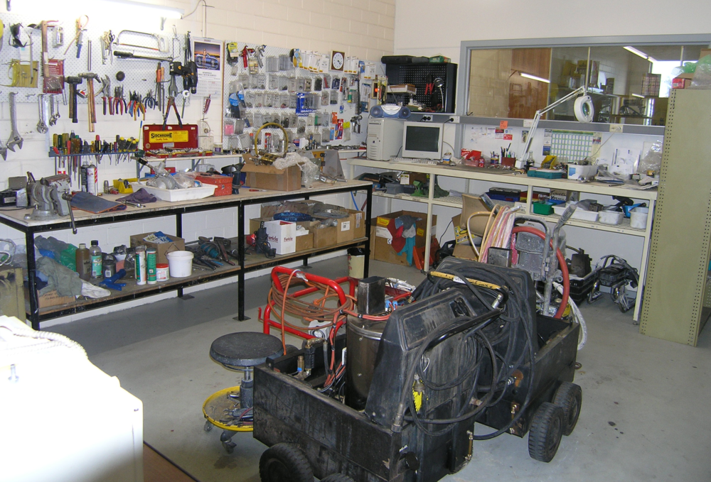 Allspray Equipment Servicing Workshop