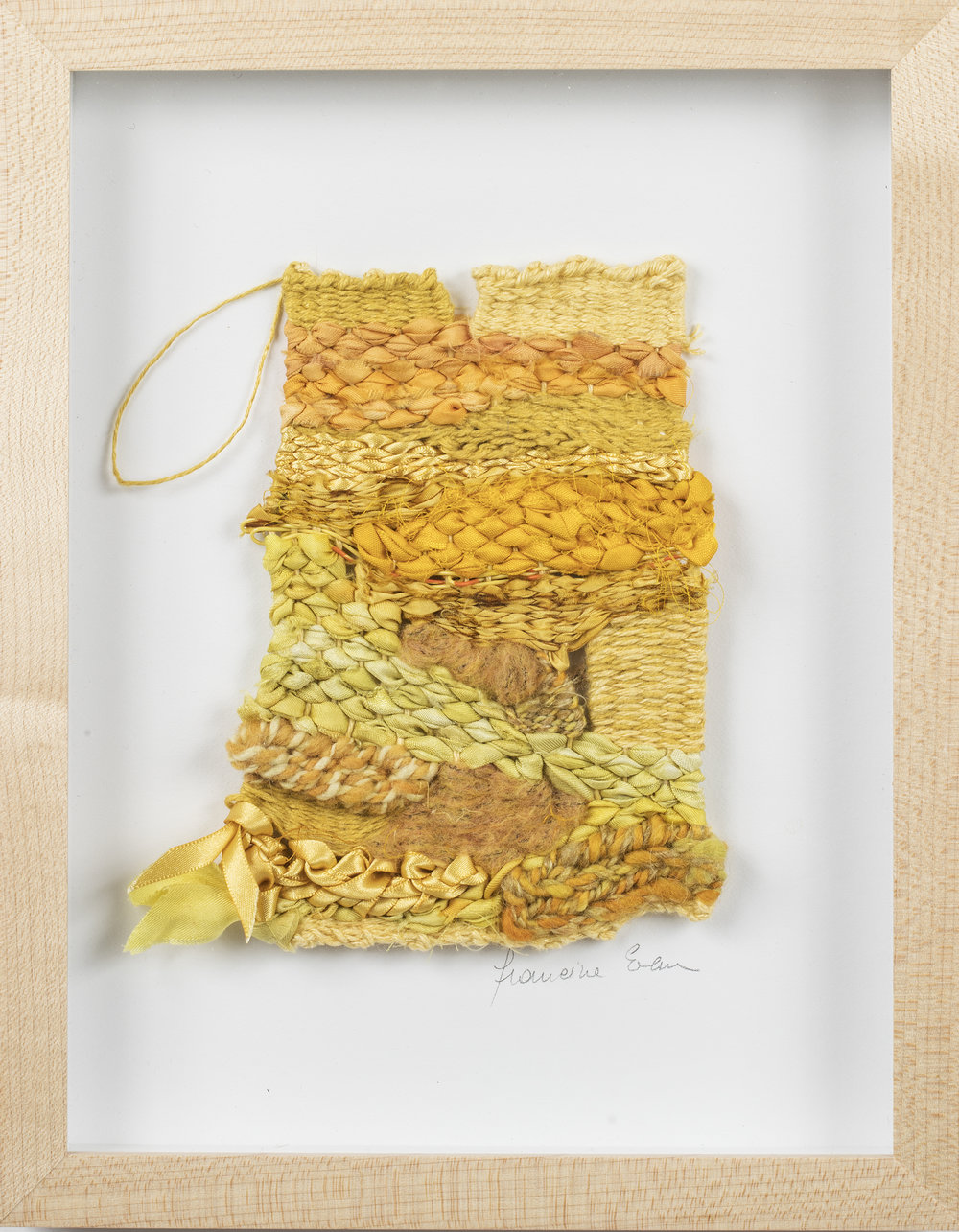 Woven Wall Hangings Framed