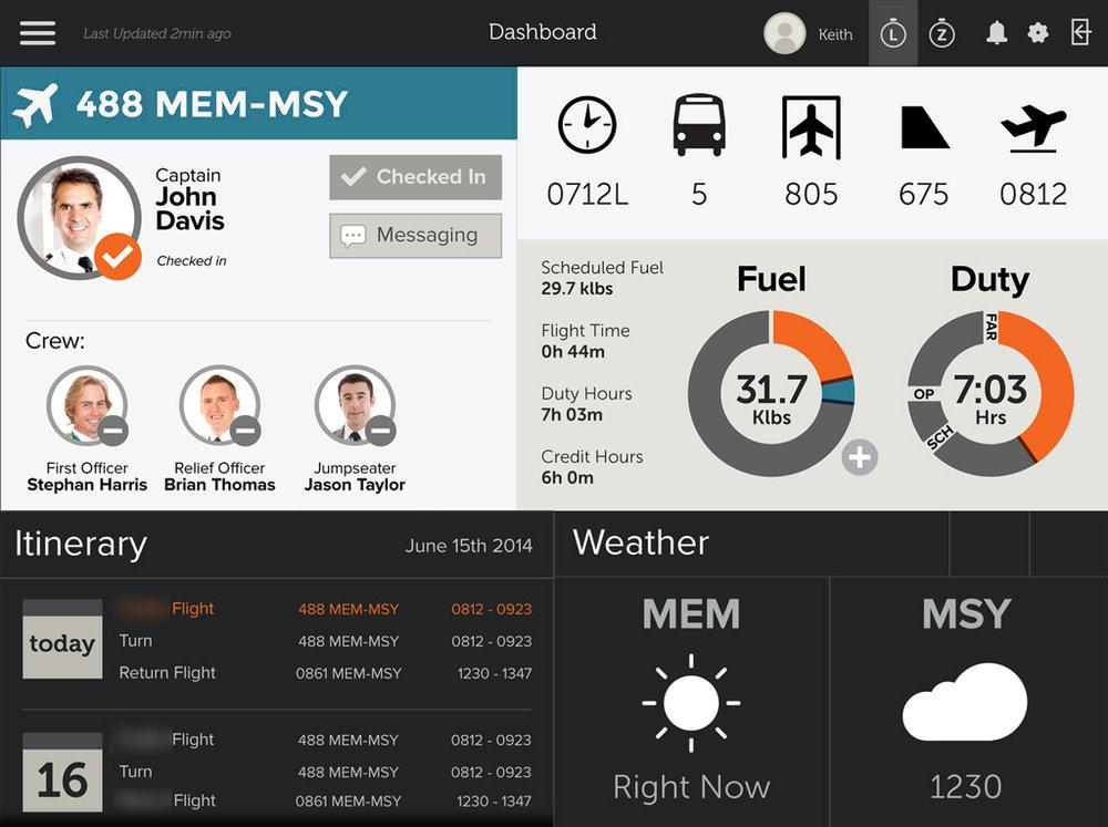 Pilot iPad App