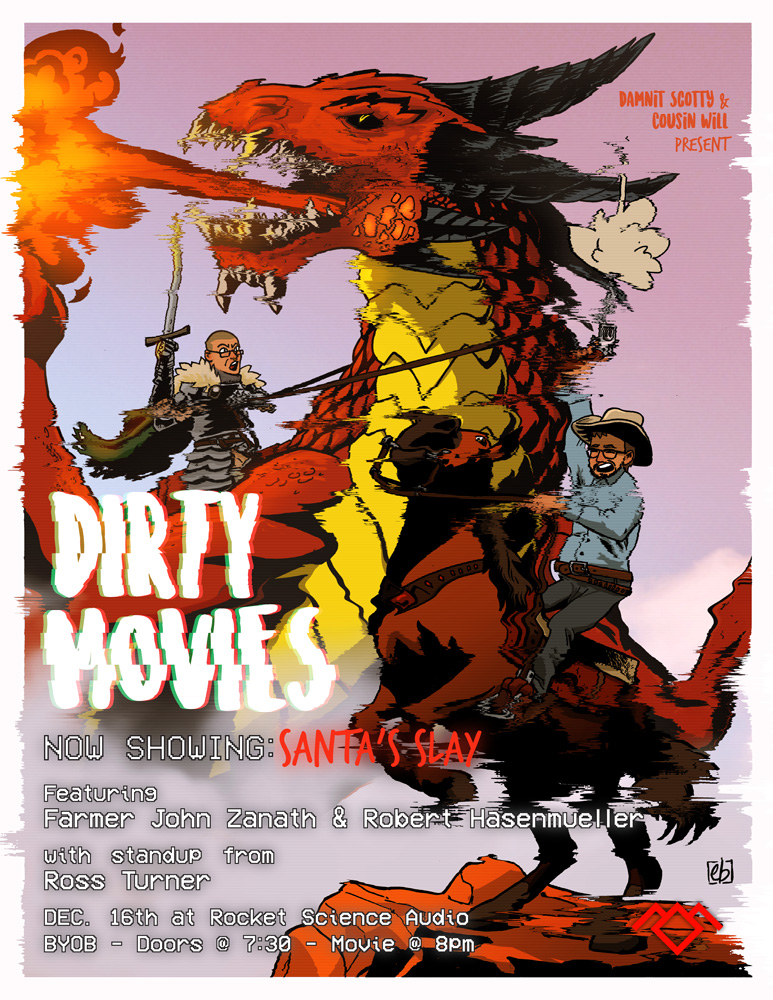 Dirty Movies Show Poster