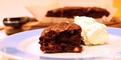 The Gluten Free Scallywag Hazelnut Brownie, Lactose Free