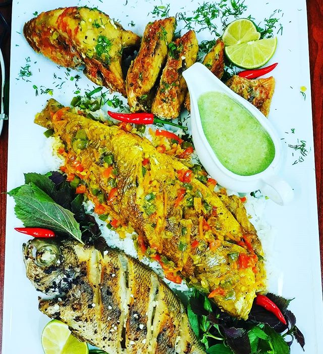 From first april we have in our menu new sea fish set. Best fresh fish catched in sea. Come and try this delicious fish. #storybeachclub #nhatrang #vietnam