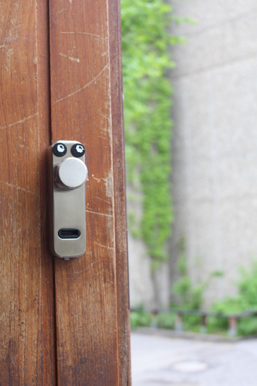 door knob face