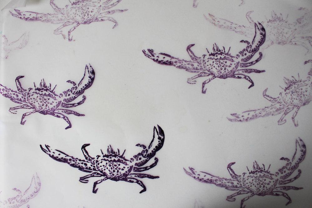 crab stamp