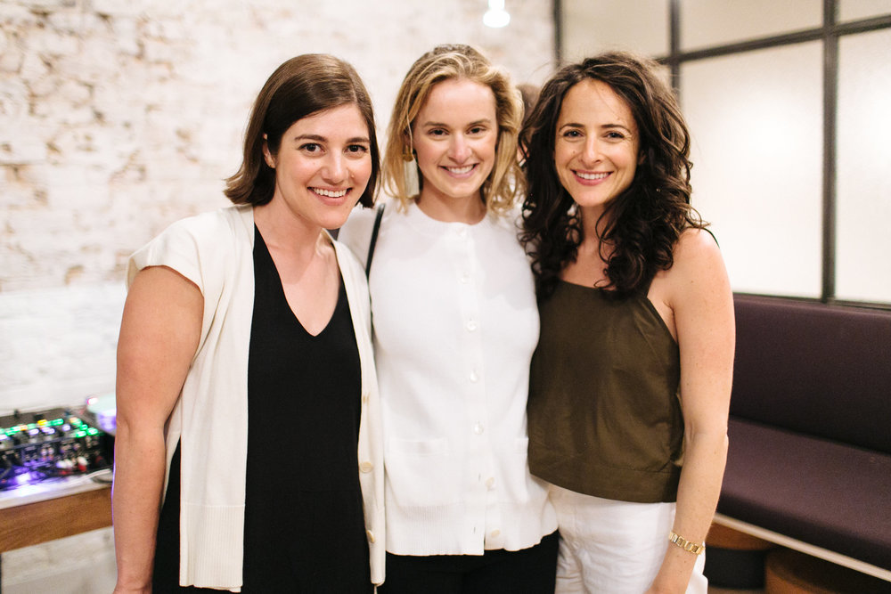 Erica Cerulo, Kathryn Fortunato, and Claire Mazur