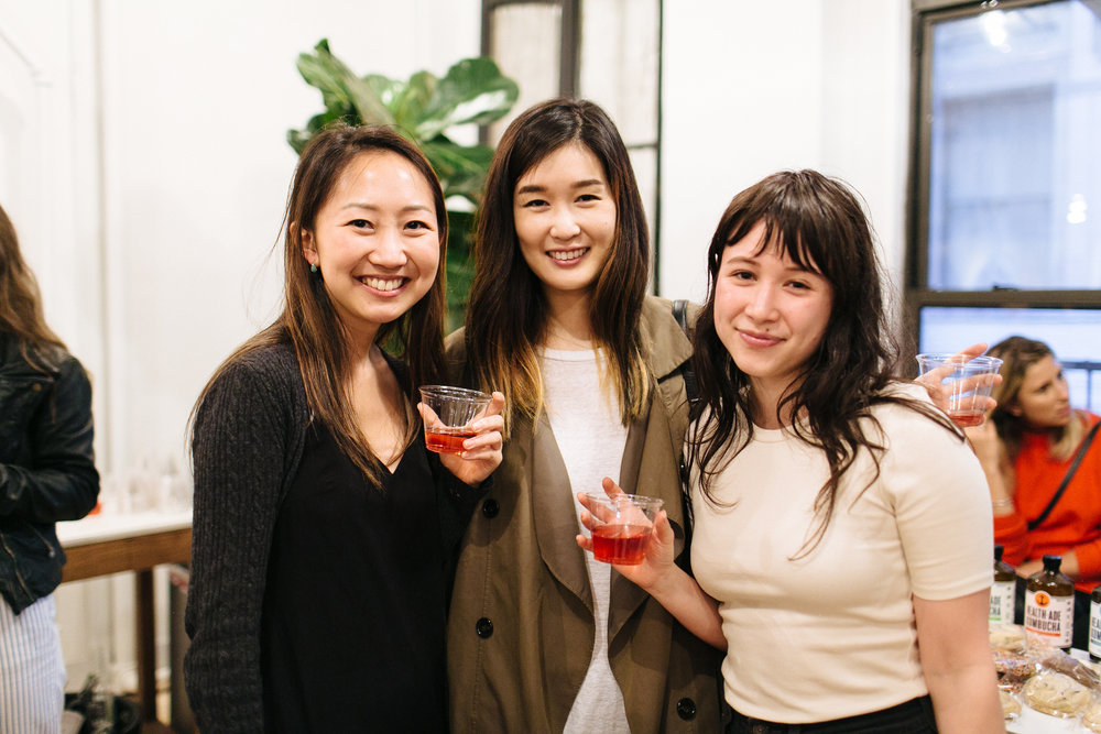 Charlotte Cho and friends