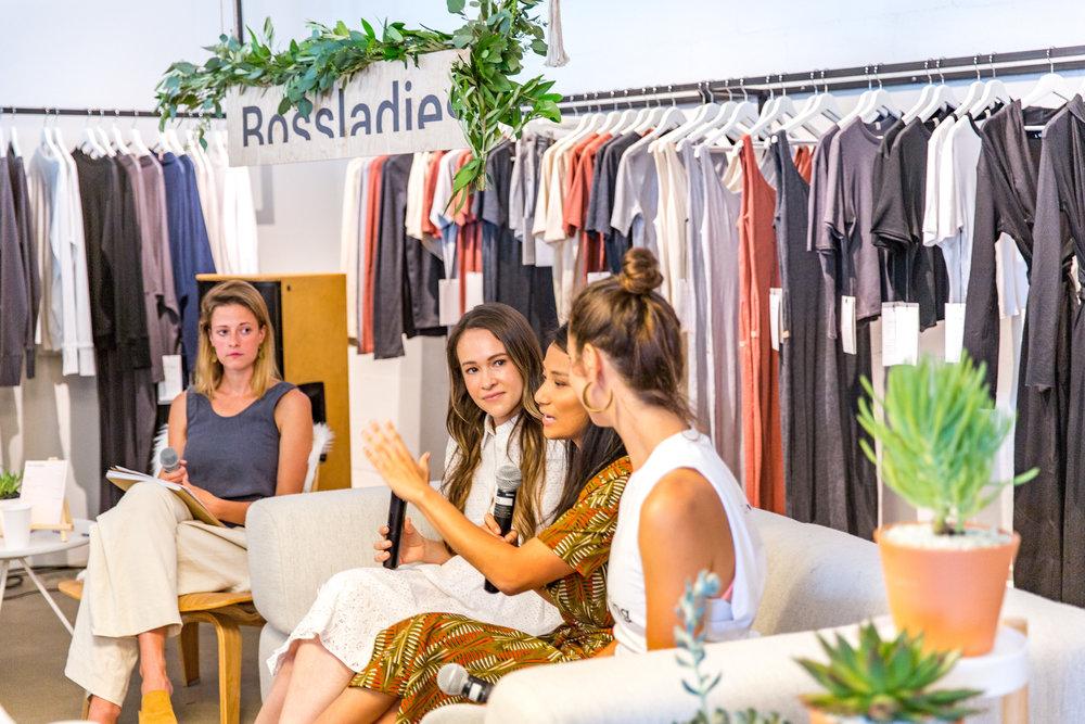 Bossladies Magazine Panel - Majka, YUMI, THINX