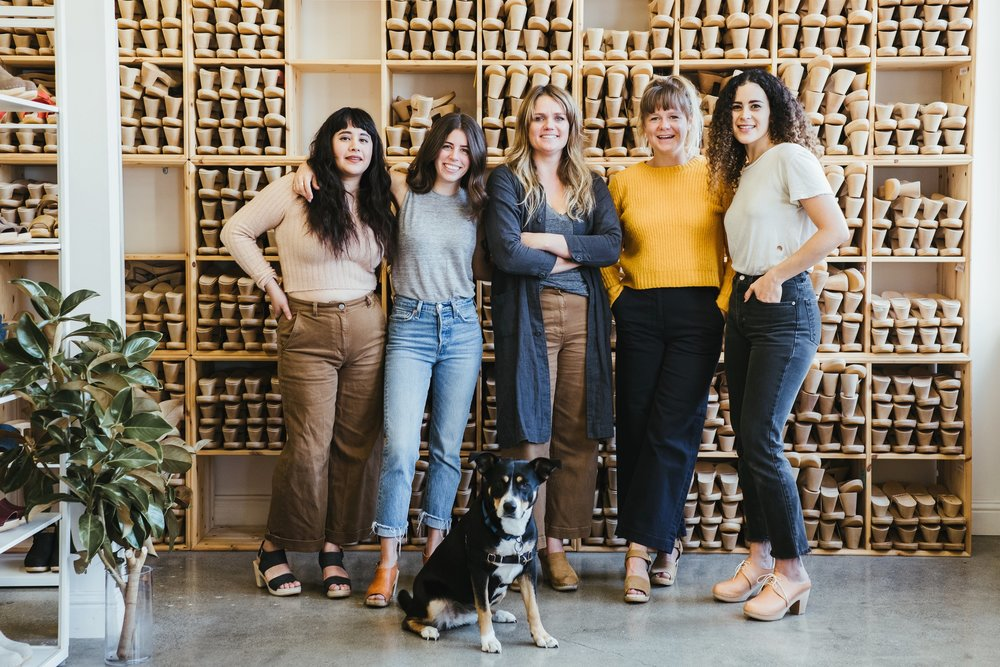 BRYR Clogs team and founder Isobel Schofield