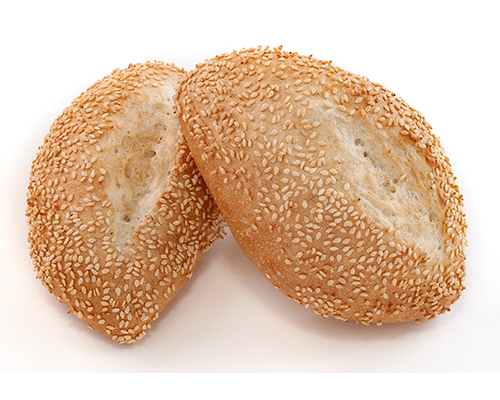 German Buns With                      Sesame Seed