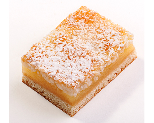 Lemon Coconut Square