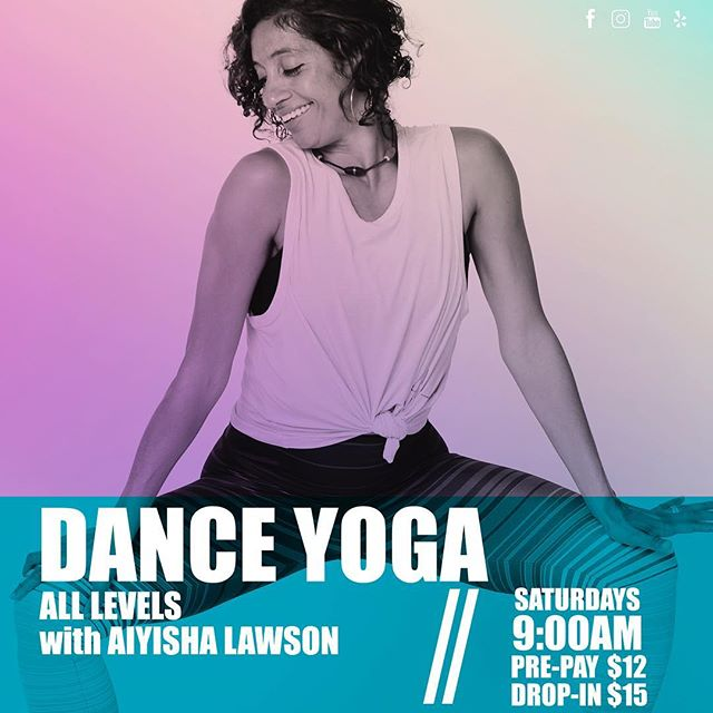 More dancing and yoga every Saturday morning @raestudiossf Come join me at 9am for some crazy fun music, dancing and yoga!!! What an epic way to start your weekend!!! #raestudios #dance #yoga #music