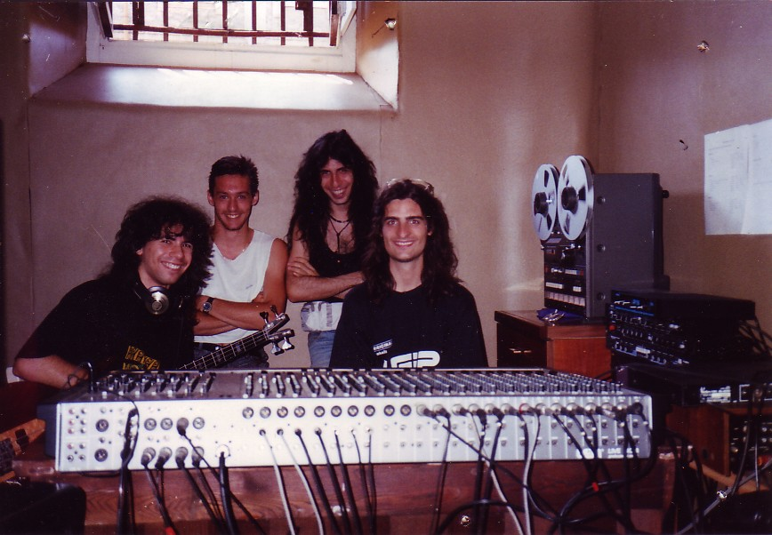 SUMMER 1990 - IN THE STUDIO