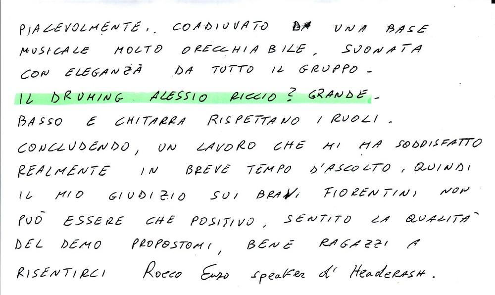 RADIO CORIGLIANO CENTRO [2] (ITALY) - 1988