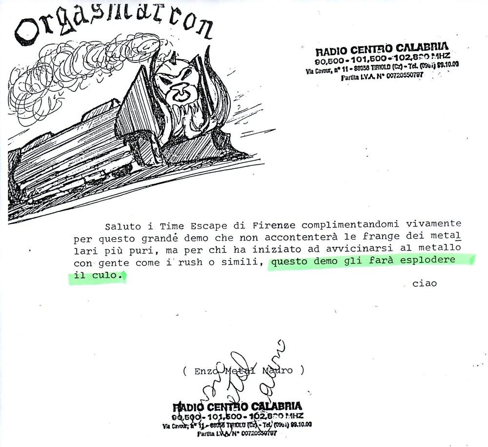 RADIO CENTRO CALABRIA (ITALY) - 1988