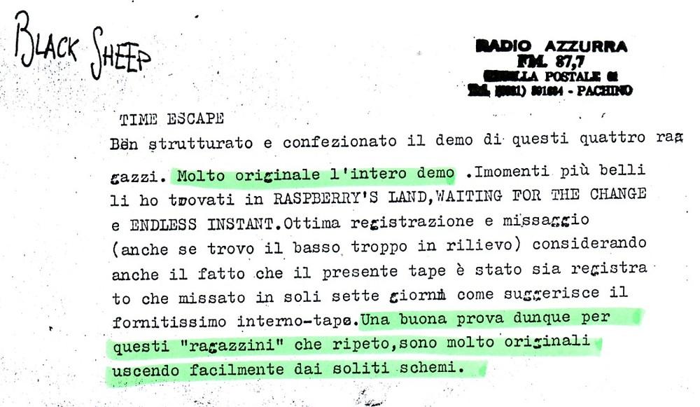 RADIO AZZURRA (ITALY) - 1988