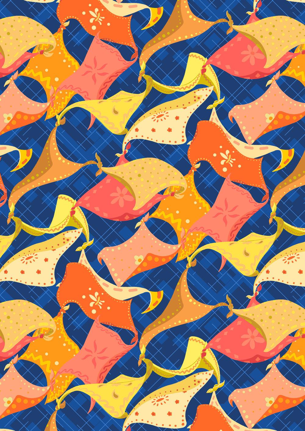Scarf Dance - Tales of Legacy - Liberty Fabrics