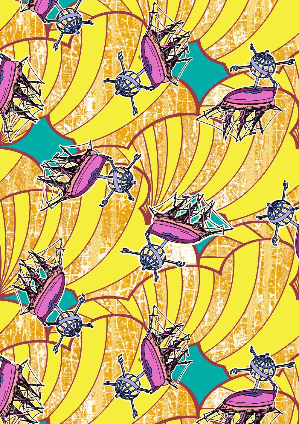 Trade Wind - Tales of Legacy - Liberty Fabrics