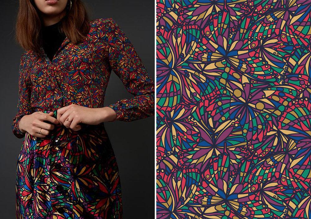 Jewel - A Palace Garden  - Liberty Fabrics AW18