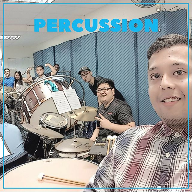 The punniest section goes to them 🤡 #SGO2017 #aiwe #audioimagewindensemble #music #love #anime #game #percussionsection #percussion #percussionist