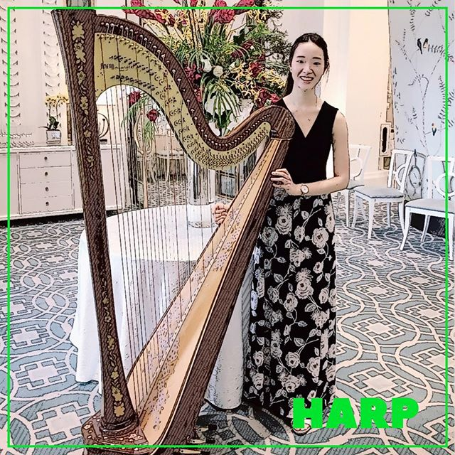 """Harpist spend 90% of their lives tuning their harp and 10% playing out of tune."" - Igor Stravinsky So we asked our harpist if she agree's with Stravinsky. And this is what she has to say, ""Yea it's true... but it's not our fault 😂"" #SGO2017 #aiwe #audioimagewindensemble #siglapsouthcc #music #love #anime #game #harp #harpist"